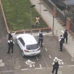 Angol rendőrök szerencsétlenkedése
