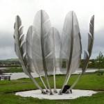 Megható indián emlékmű Írországban