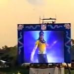 Michael Jackson belépője az 1993-as Super Bowl-on
