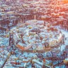 Tallinn belvárosa télen és nyáron