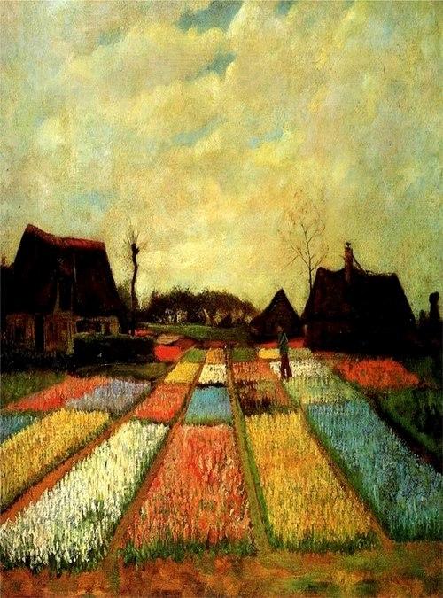 Vincent van Gogh olajfestménye  1883.