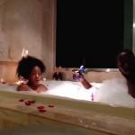 Hétfő esti romantikus fürdő