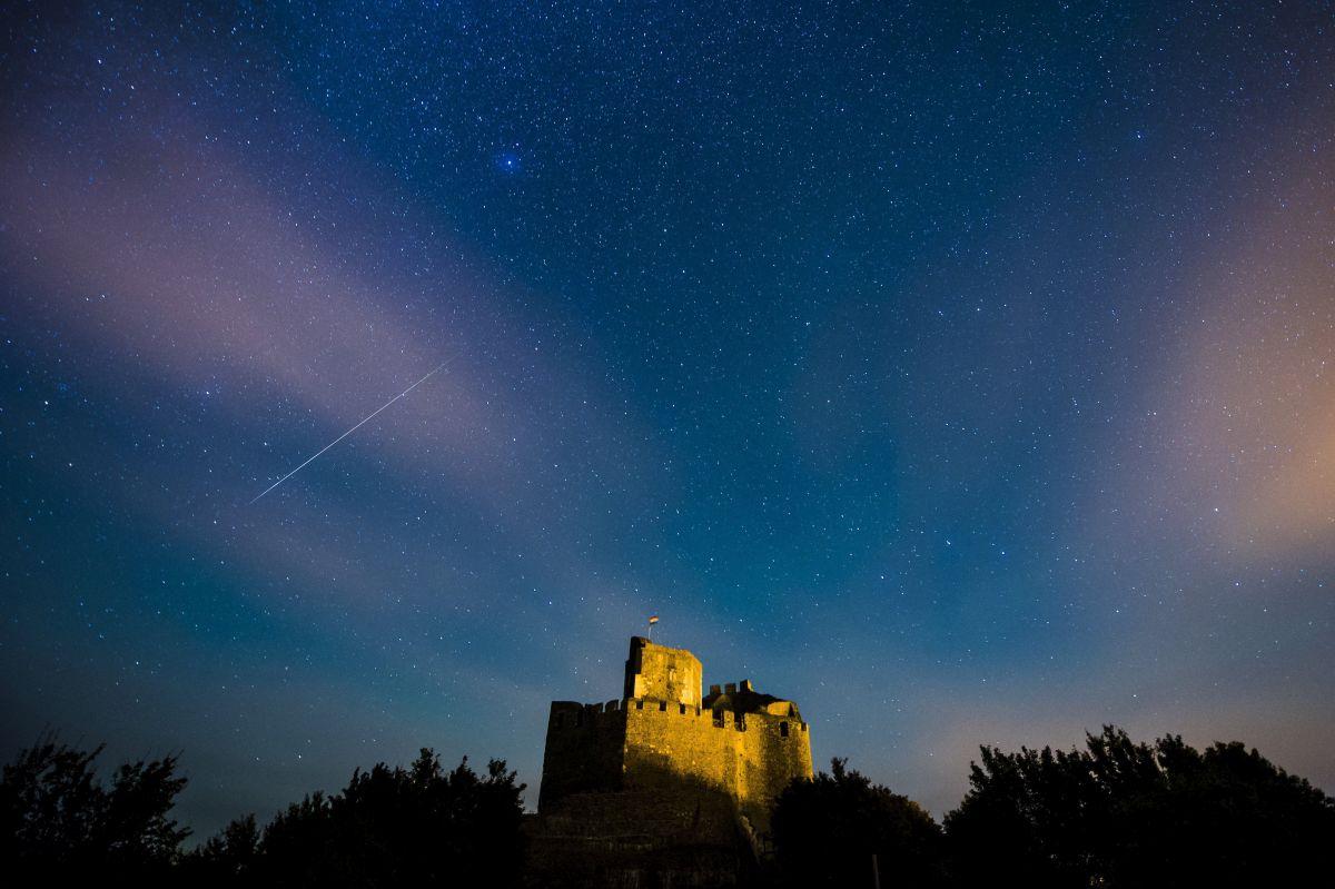 Perseida meteorraj