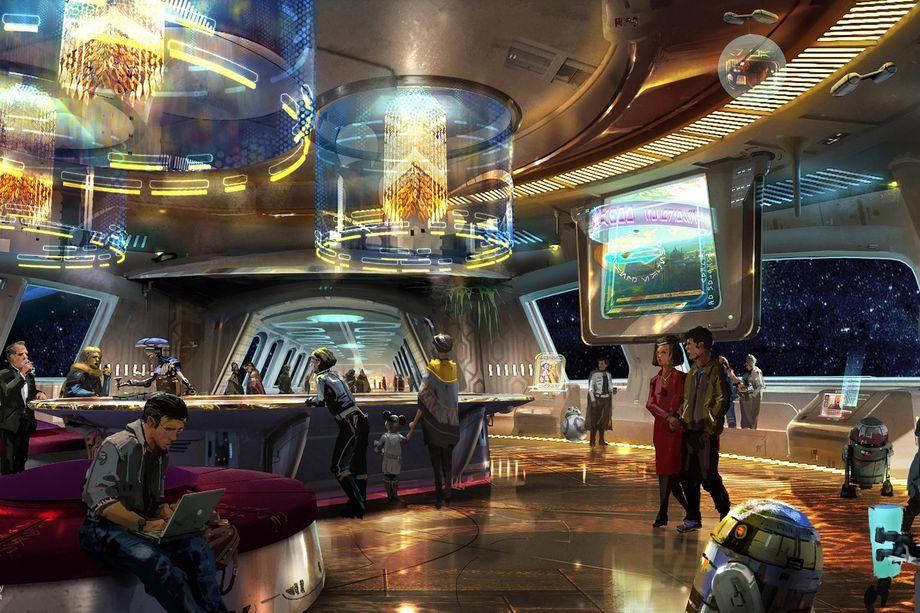 Star Wars szálloda