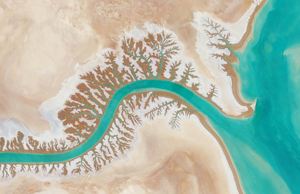 Shadegan-öböl, Irán