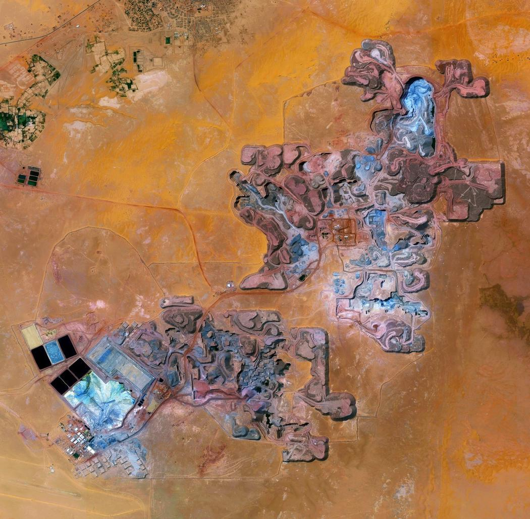 Urániumbánya Nigerben