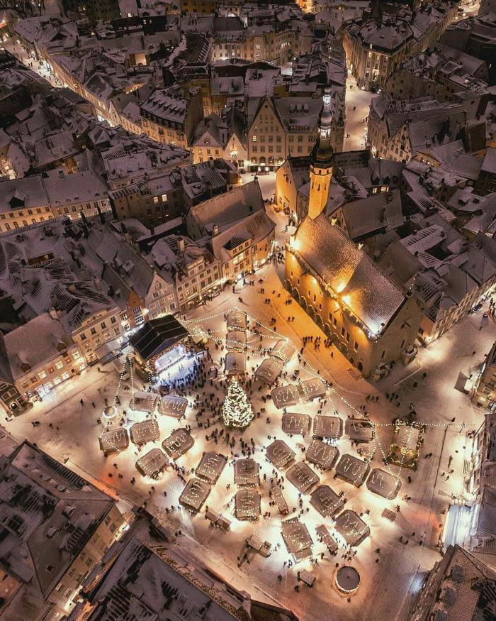 Tallin, karácsony