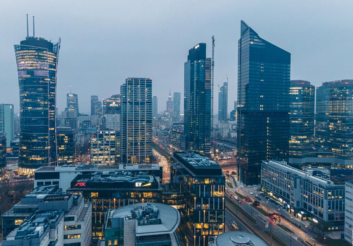 Varsó felhőkarcolói